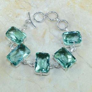 Tpz 068d bracelet topazes bleues bijou argent 925 vente achat