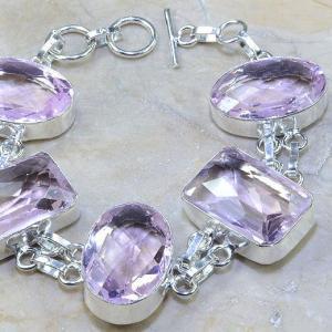 Tpz 077c bracelet topaze rose bijou argent 925 vente achat