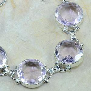 Tpz 101c bracelet topaze rose bijou argent 925 vente achat