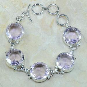 Tpz 101d bracelet topaze rose bijou argent 925 vente achat