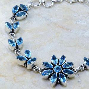 Tpz 102b bracelet topaze rose bijou argent 925 vente achat