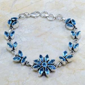 Tpz 102d bracelet topaze rose bijou argent 925 vente achat
