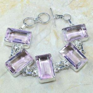 Tpz 142a bracelet topaze rose bijou argent 925 vente achat