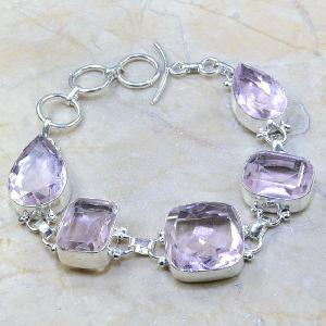 Tpz 161a bracelet topaze rose bijou renaissance grand siecle argent 925 vente achat