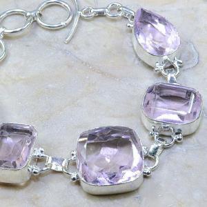 Tpz 161b bracelet topaze rose bijou renaissance grand siecle argent 925 vente achat 1