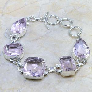 Tpz 161b bracelet topaze rose bijou renaissance grand siecle argent 925 vente achat 2