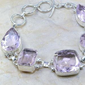 Tpz 161b bracelet topaze rose bijou renaissance grand siecle argent 925 vente achat