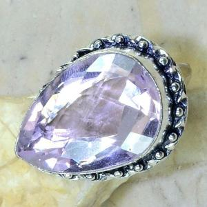 Tpz 176c bague t61 topaze rose bijoux renaissance argent 925 vente achat