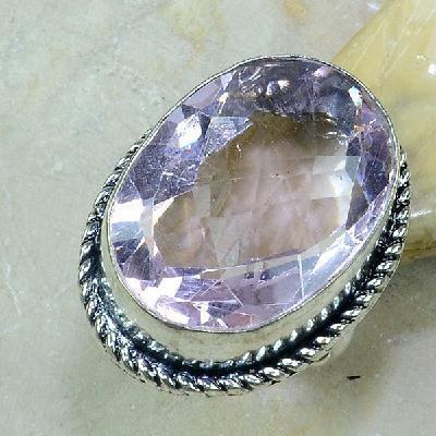 Tpz 209a bague t60 topaze rose bijoux renaissance argent 925 vente achat