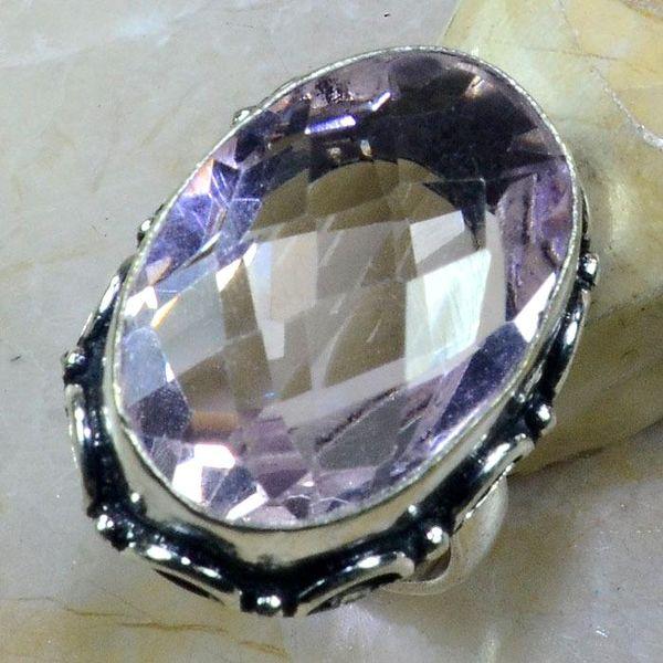 Tpz 228a bague t56 topaze rose bijoux renaissance medievale argent 925 vente achat