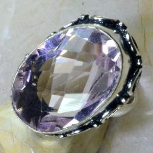 Tpz 228c bague t56 topaze rose bijoux renaissance medievale argent 925 vente achat