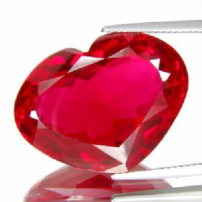 Tpz 278a coeur topaze rouge pierre naturelle lithotherapie gemme achat vente bijou argent 925