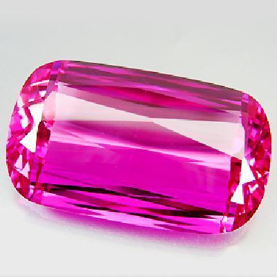 Tpz 282a topaze rose pink coussin pierre naturelle lithotherapie gemme achat vente bijou
