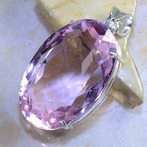 Tpz 374b pendentif pierre topaze rose gemme lithotherapie bijou argent 925 vente achat