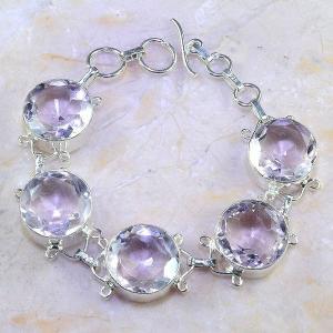 Tpz 409a bracelet topaze rose pink bijou argent 925 vente achat