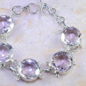Tpz 409c bracelet topaze rose pink bijou argent 925 vente achat