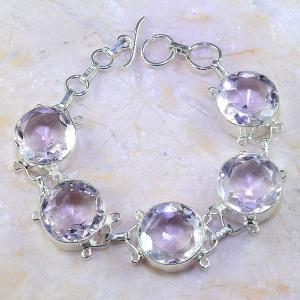 Tpz 409d bracelet topaze rose pink bijou argent 925 vente achat