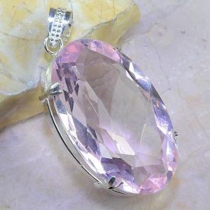 Tpz 410a pendentif pierre topaze rose gemme lithotherapie bijou argent 925 vente achat