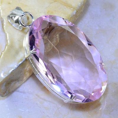 Tpz 411a pendentif pierre topaze rose gemme lithotherapie bijou argent 925 vente achat