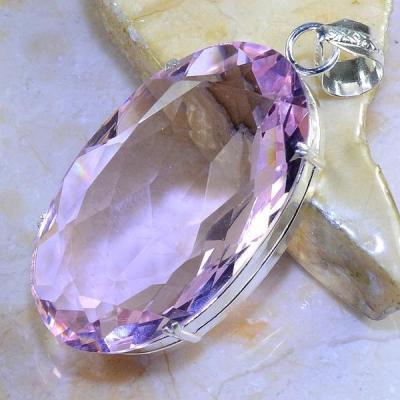 Tpz 412b pendentif pierre topaze rose gemme lithotherapie bijou argent 925 vente achat