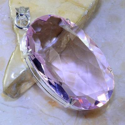 Tpz 415a pendentif pierre topaze rose gemme lithotherapie bijou argent 925 vente achat