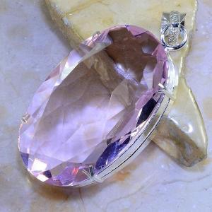 Tpz 415b pendentif pierre topaze rose gemme lithotherapie bijou argent 925 vente achat