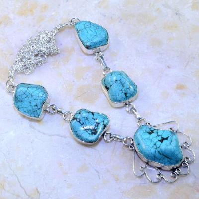 Tqa 031a collier sautoir parure turquoise bleue corail achat vente bijou pierre argent 925