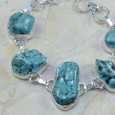Tqa 068b bracelet turquoise achat vente bijou argent 925 1