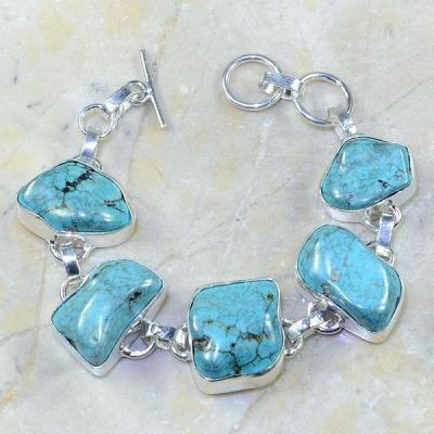 Tqa 069b bracelet turquoise achat vente bijou argent 925 1