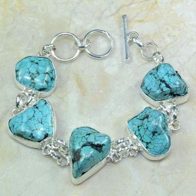 Tqa 071a bracelet turquoise achat vente bijou argent 925 1