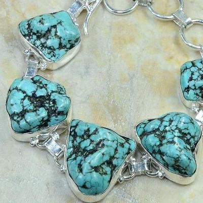 Tqa 073b bracelet turquoise achat vente bijou argent 925 1