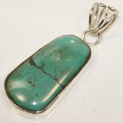 Tqa 108a pendentif pendant turquoise reiki achat vente bijou argent 925
