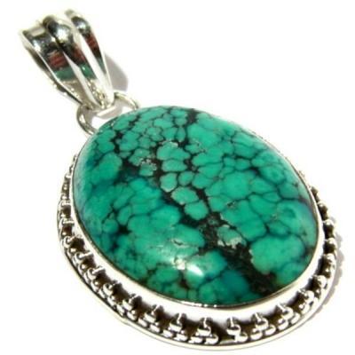 Tqa 112a pendentif pendant turquoise reiki achat vente bijou argent 925