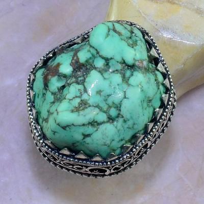 Tqa 116a bague t57 turquoise bleue ethnique tibet nepal achat vente bijou argent 925