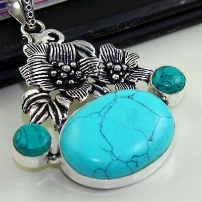 Tqa 158c pendentif pendant turquoise achat vente bijou argent 925