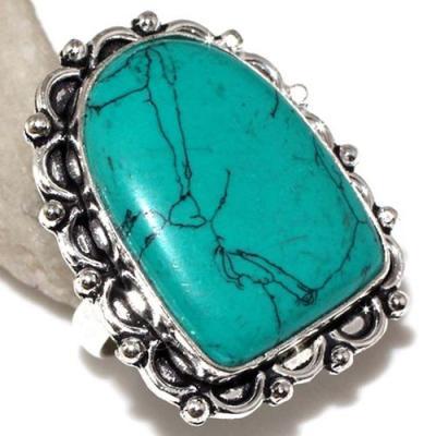 Tqa 167a bague chevaliere t57 25x18mm turquoise achat vente bijou argent 925