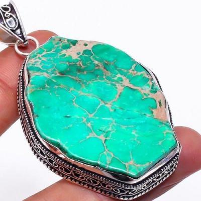 Tqa 285c pendentif pendant turquoise verte achat vente bijou argent 925