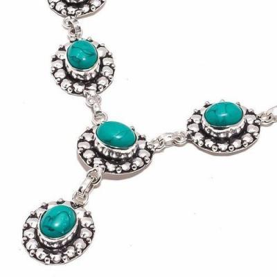 Tqa 287b collier parure sautoir turquoise 29gr tibet achat vente bijou argent 925