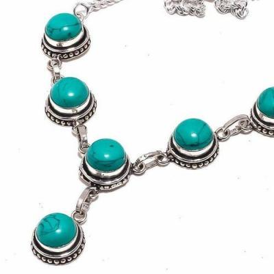 Tqa 290b collier parure sautoir turquoise 24gr tibet achat vente bijou argent 925