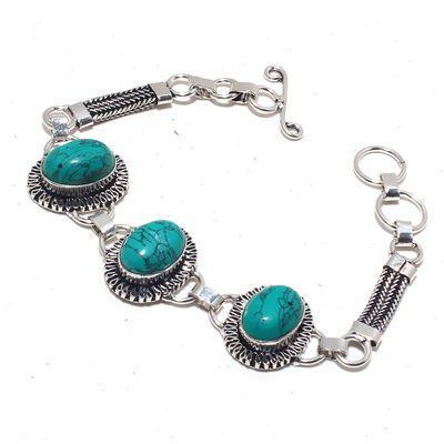 Tqa 326a bracelet navajo 16gr turquoise 10 15mm achat vente bijou ethnique argent 925