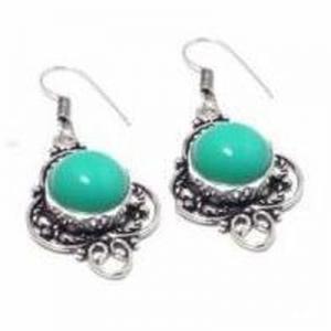 Tqa 337a boucles pendants oreilles 50mm 10gr turquoise 15mm achat vente bijou argent 925