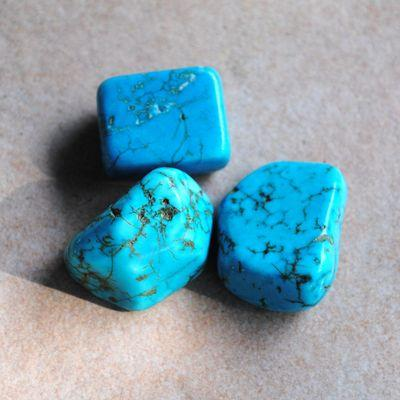 Tqp 035b lot 3xturquoise 54gr pierres brute polies achat vente