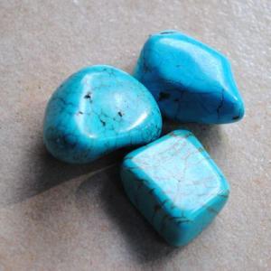 Tqp 043b lot 3xturquoise 49gr pierres brute polies achat vente