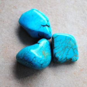 Tqp 043c lot 3xturquoise 49gr pierres brute polies achat vente