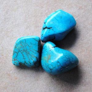 Tqp 043d lot 3xturquoise 49gr pierres brute polies achat vente