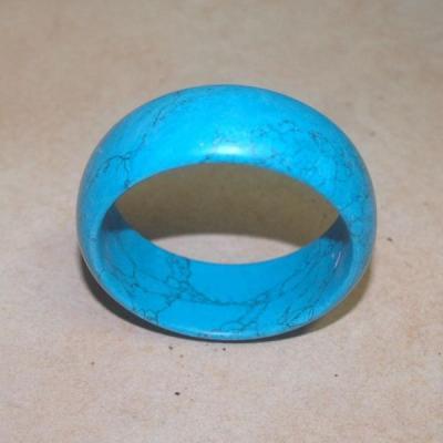 Tqr 001d bracelet turquoise woolite bijou ethnique achat vente