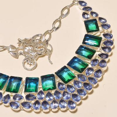 Trm 003c collier sautoir parure tourmaline achat vente pierre gemme mineraux
