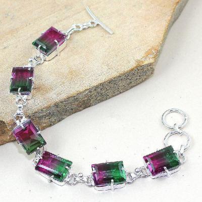 Trm 020a bracelet tourmaline bolivie achat vente bijou monture argent 925