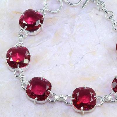 Trm 089c bracelet tourmaline rose lithotherapi gemme argent 925 achat vente bijou