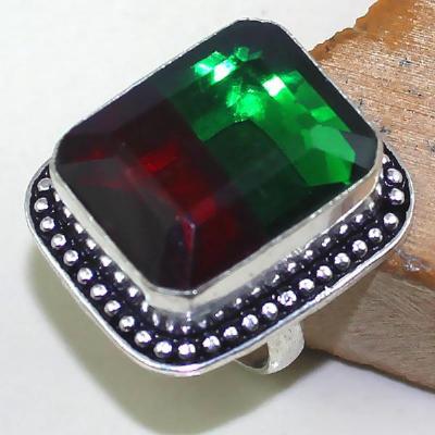 Trm 103a bague t57 tourmaline rouge bijoux renaissance medievale argent 925 vente achat